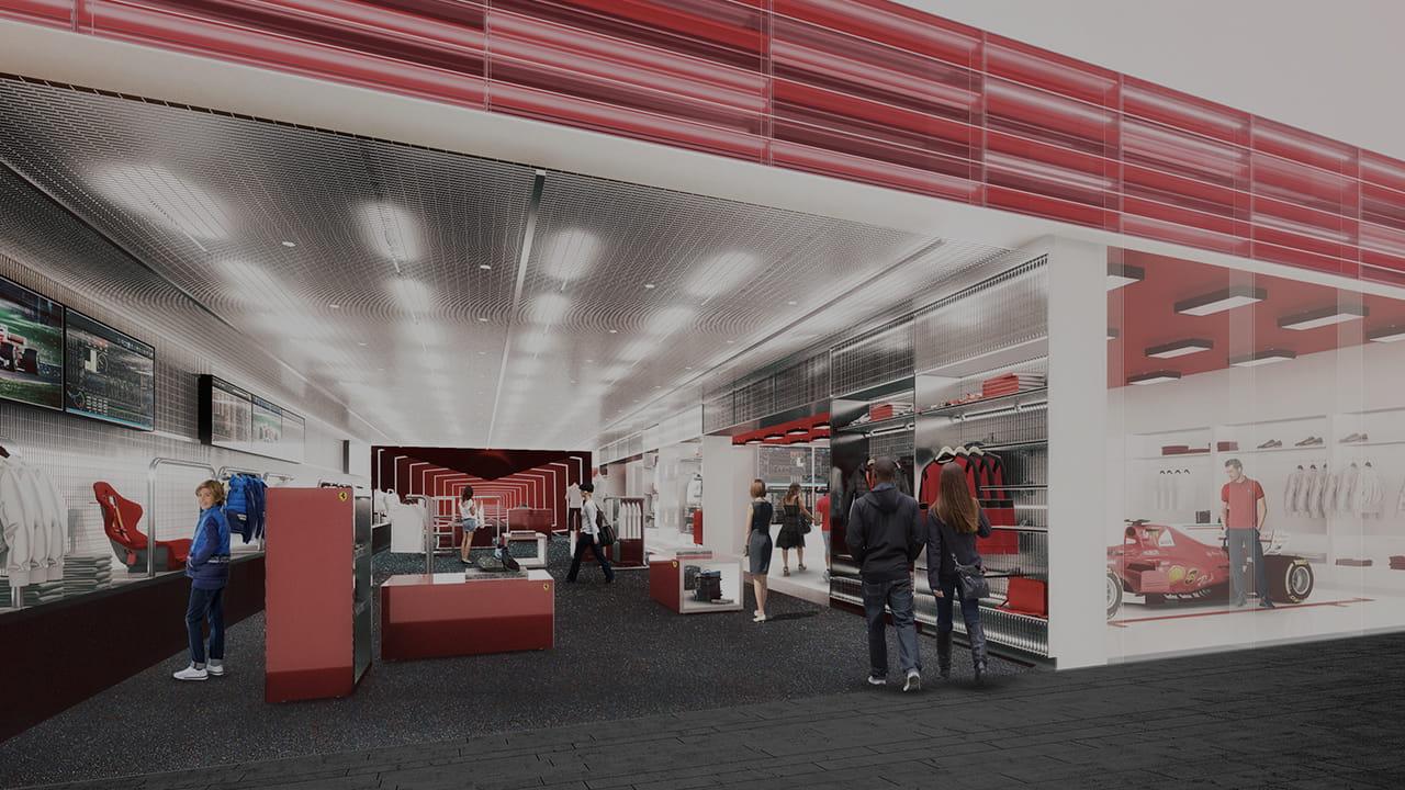 Scuderia Ferrari Stores