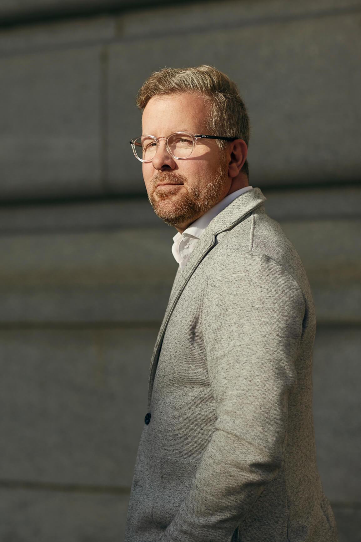 Christian Quenneville, VP développement d'affaires chez Sid Lee