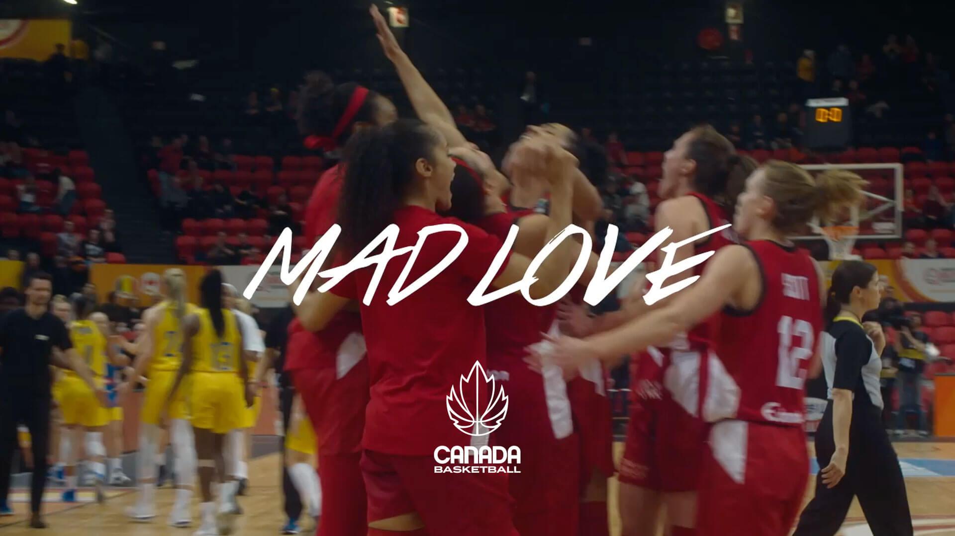 Mad Love canadian women basketball team