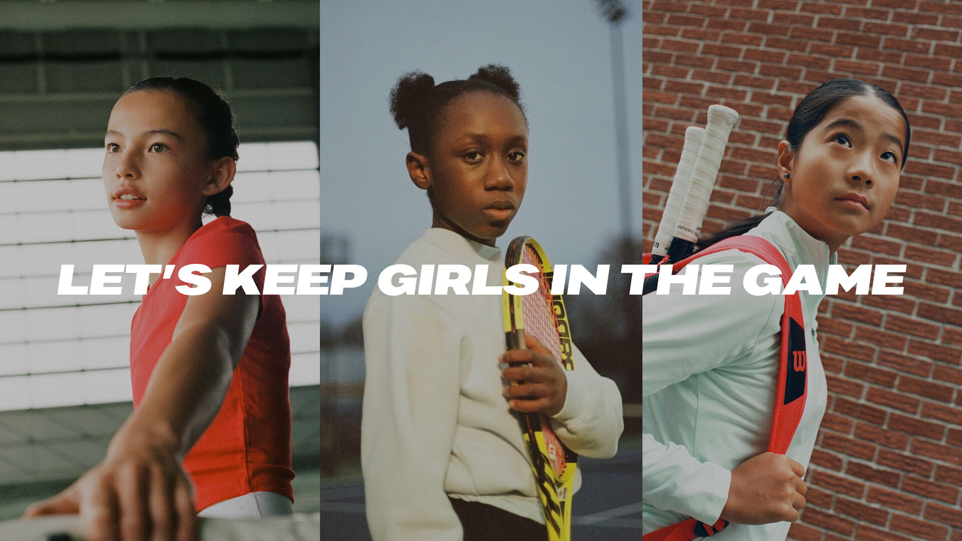 Tennis Canada - Let's keep girls in the game