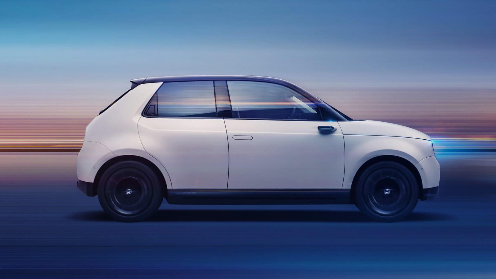 Honda e — Ce n'est pas un prototype