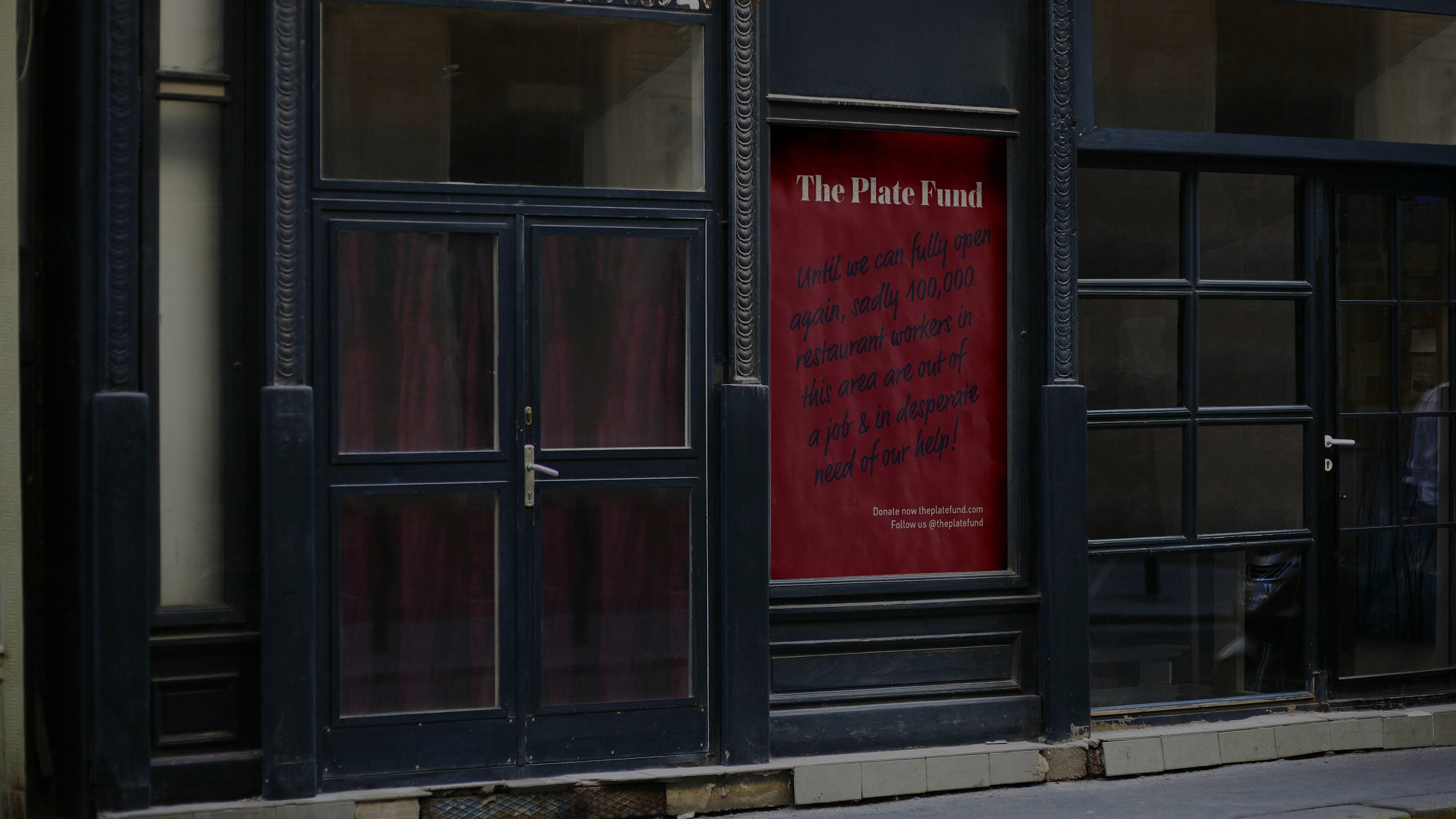The Plate Fund: It's Our Turn to Serve